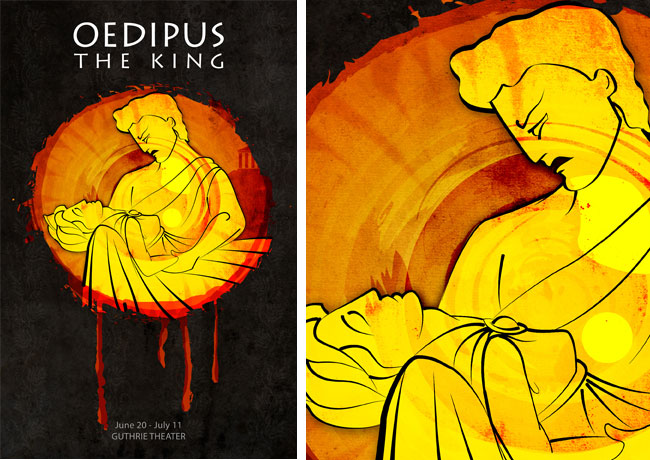 How did oedipus cause others to suffer?