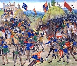 The Battle of Crecy - 1346