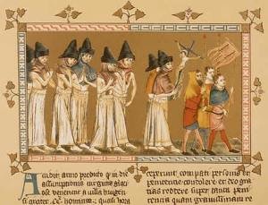A Group of Flagellants