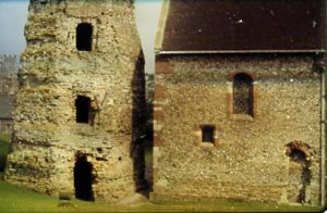 Roman Lighthouse and Early Christian Church in Britain