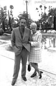 Romain Gary and Jean Seberg