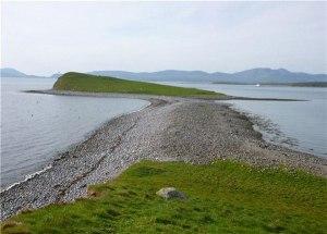 Dorinish Island in Ireland